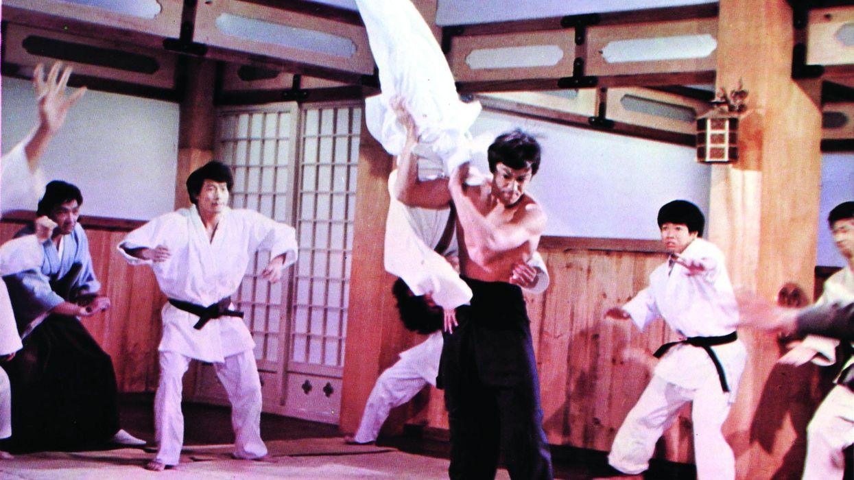 Bruce Lee Judo