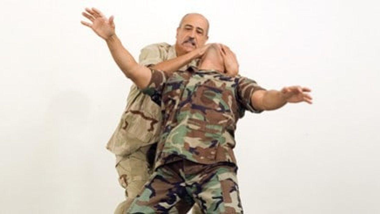 Combat-Hapkido Techniques Video: John Pellegrini Demonstrates Self-Defense Moves Against a Throat Grab