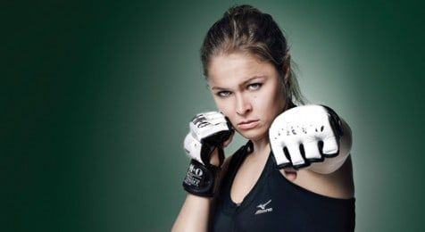 """Learn the """"Juji Squish Roll"""" From Judo Player and MMA Fighter Ronda Rousey!"""