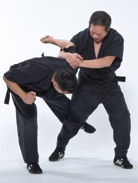 Kung Fu Video: Combat Shuai Chiao Master David C.K. Lin Prepares Techniques for Black Belt Magazine Photo Shoot