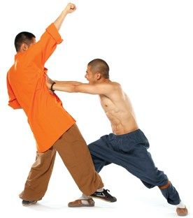 Shaolin Kung Fu Moves Video: Shaolin Monk Wang Bo Shows You the Double-Palm Strike