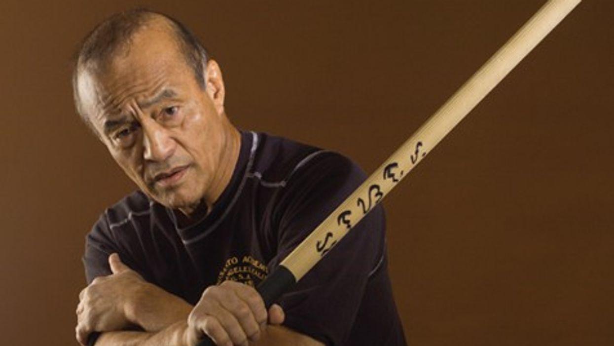 Kenpo and JKD Expert Dan Inosanto Behind the Scenes at Black Belt Magazine