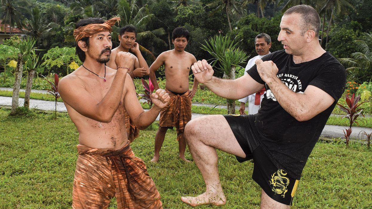 Silat In Bali