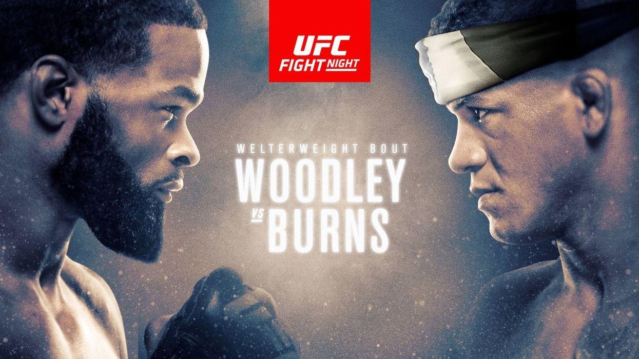 UFC FIght Night Woodley vs Burns