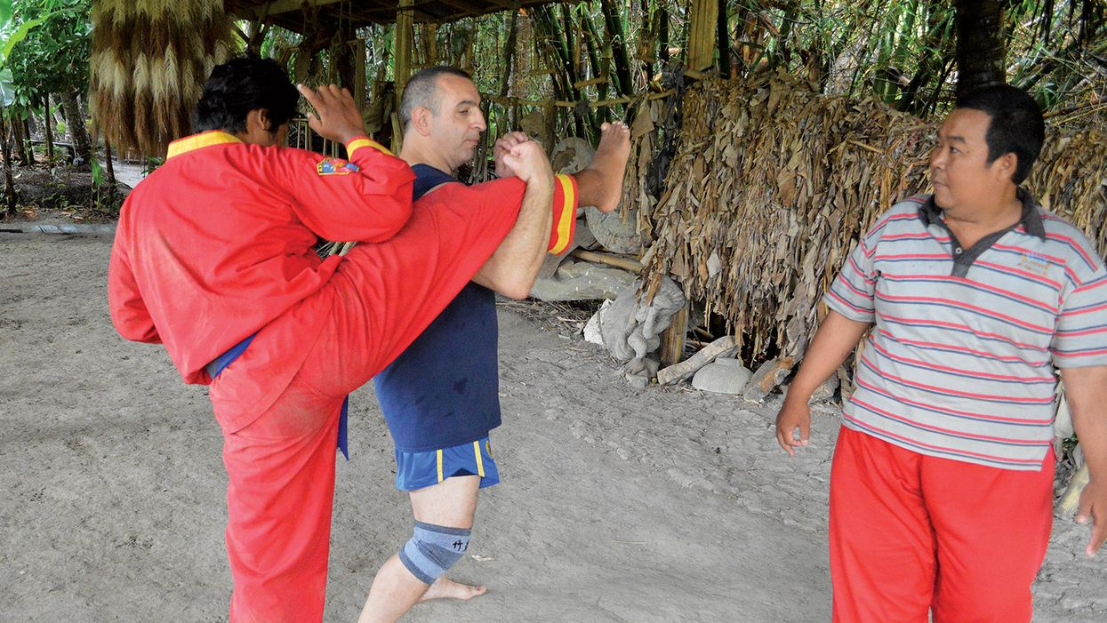 Silat Under the Volcano in Bali, Part 1
