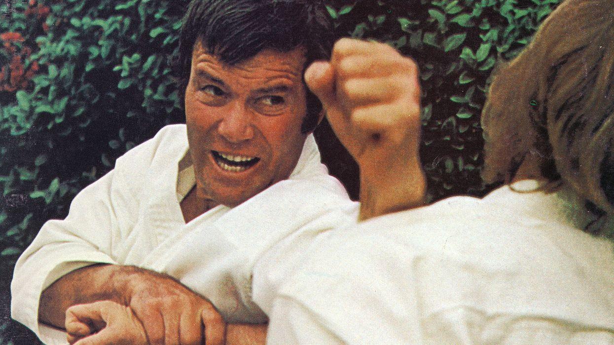 William Shatner's Martial Arts Connection: When Star Trek's Capt. Kirk Trained in Karate!