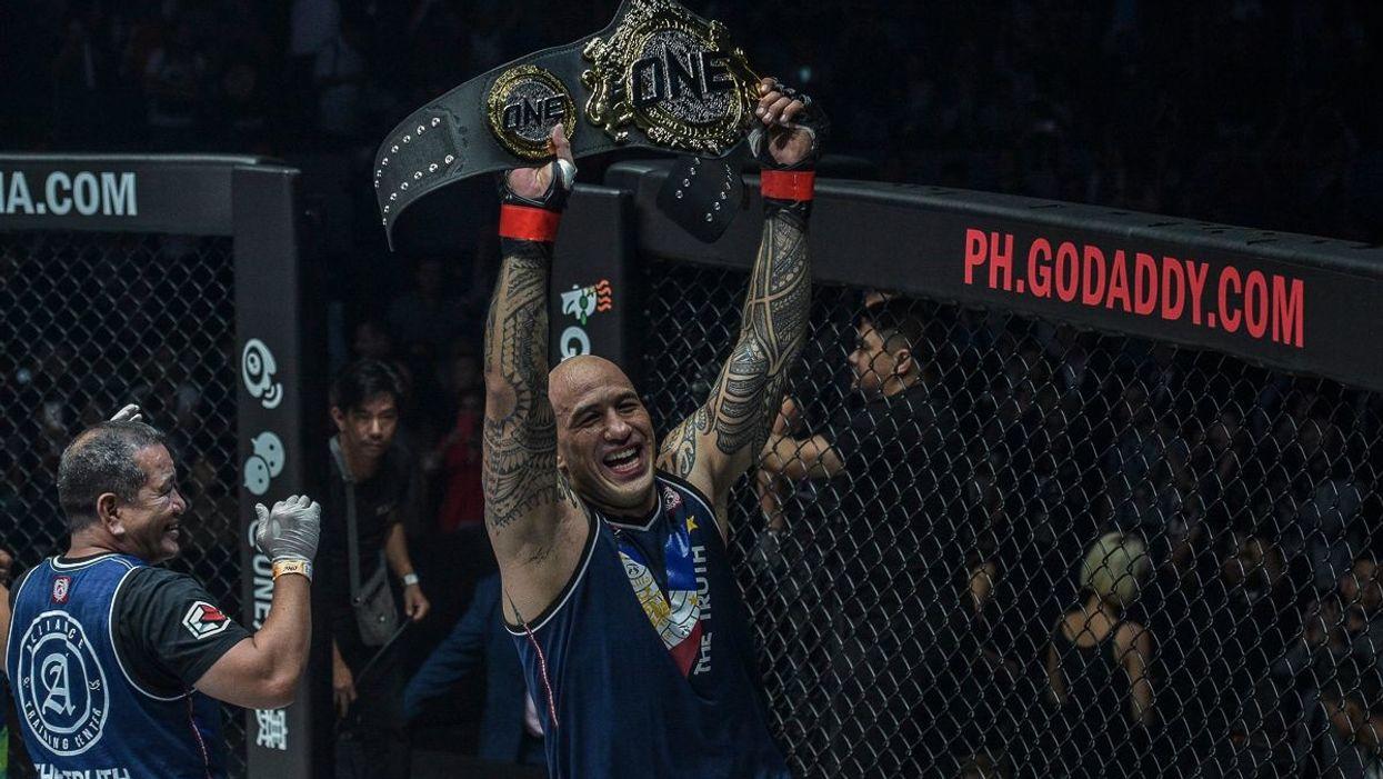 ONE Heavyweight World Champion Brandon Vera