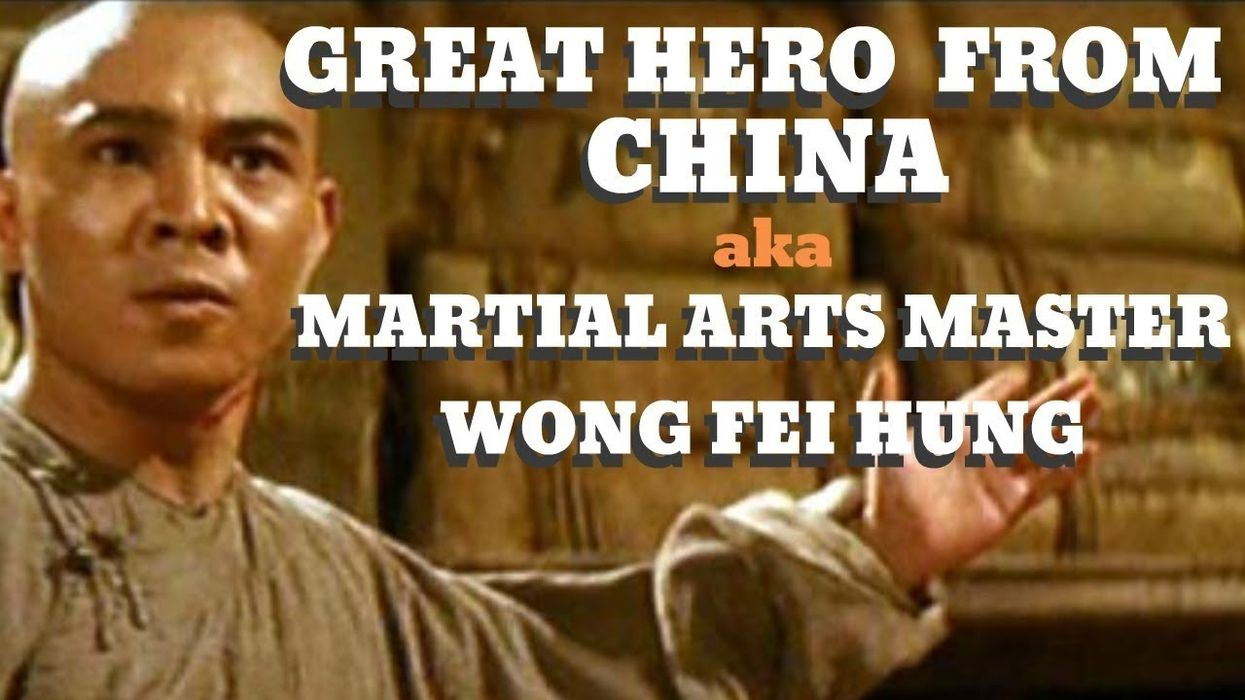 Great Hero From China Aka Martial Arts Master - Wong Fei Hung