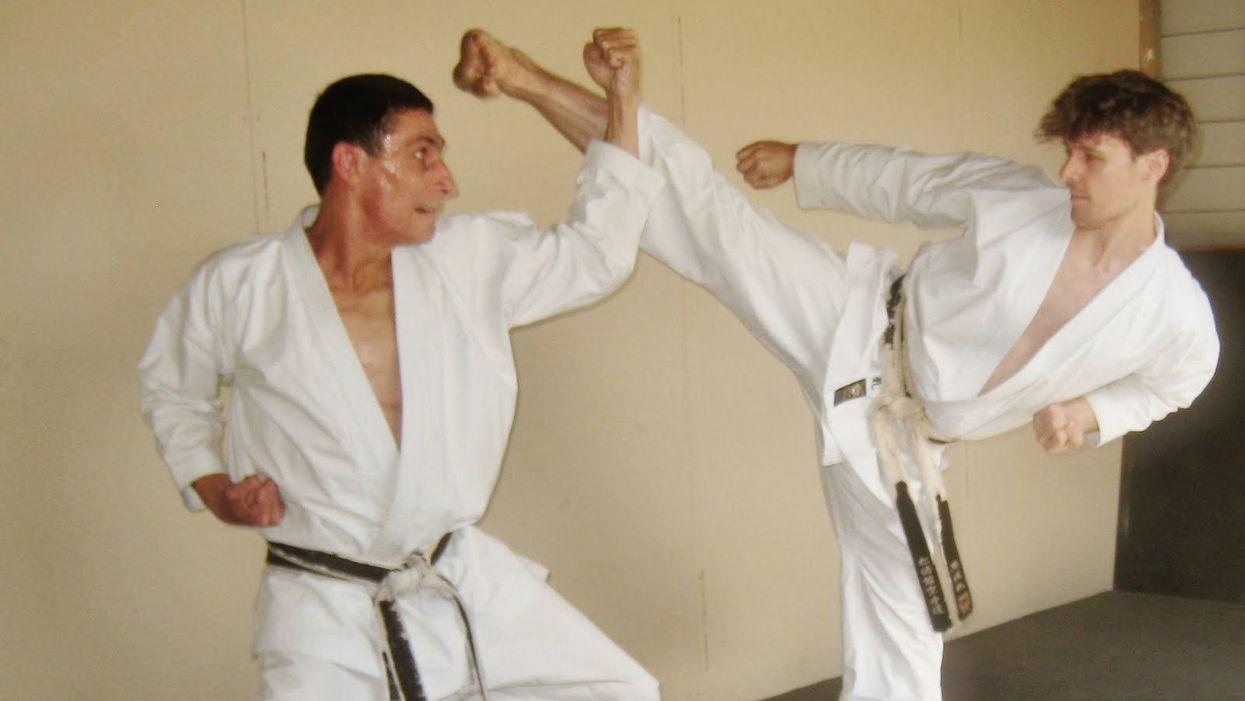 Different types of martial art blocks