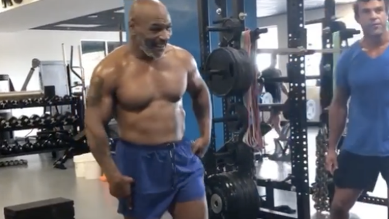 Vitor Belfort trains with Mike Tyson for comeback fight?