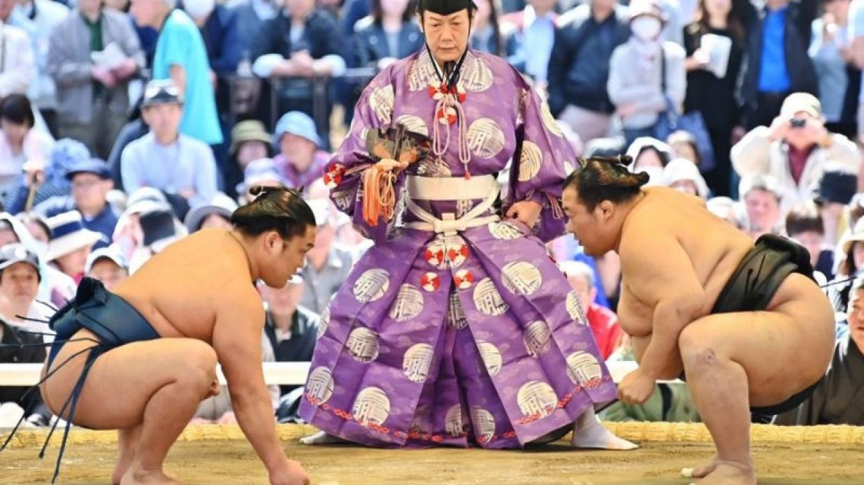 Sumo Returns in Japan Despite Continued Pandemic Fears