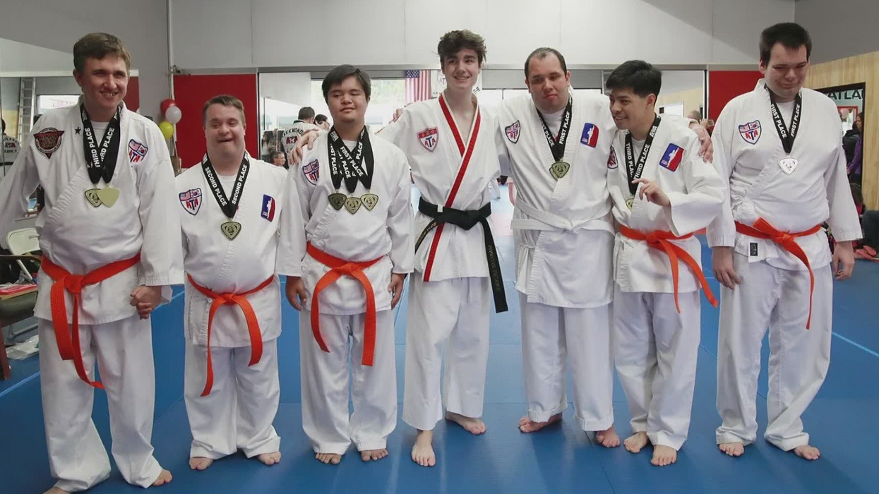 How Martial Arts Training Helps People With Down Syndrome