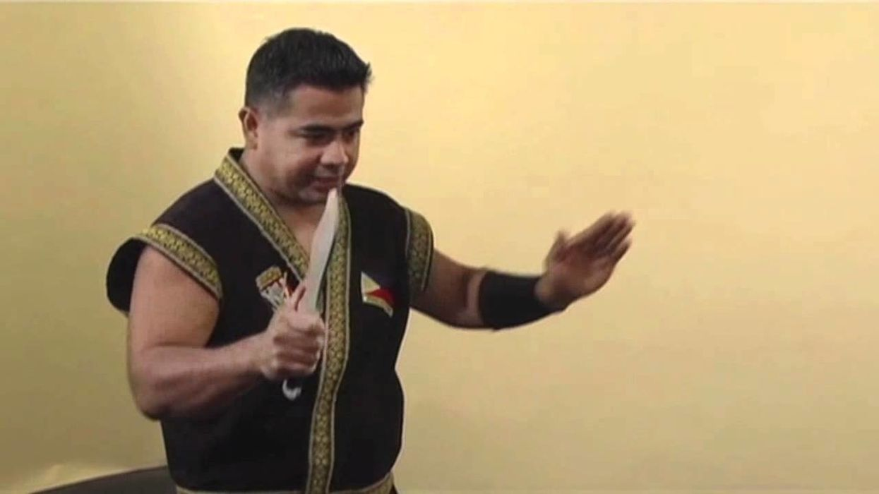 Ten Basic Knife Strikes in Philippine Martial Arts