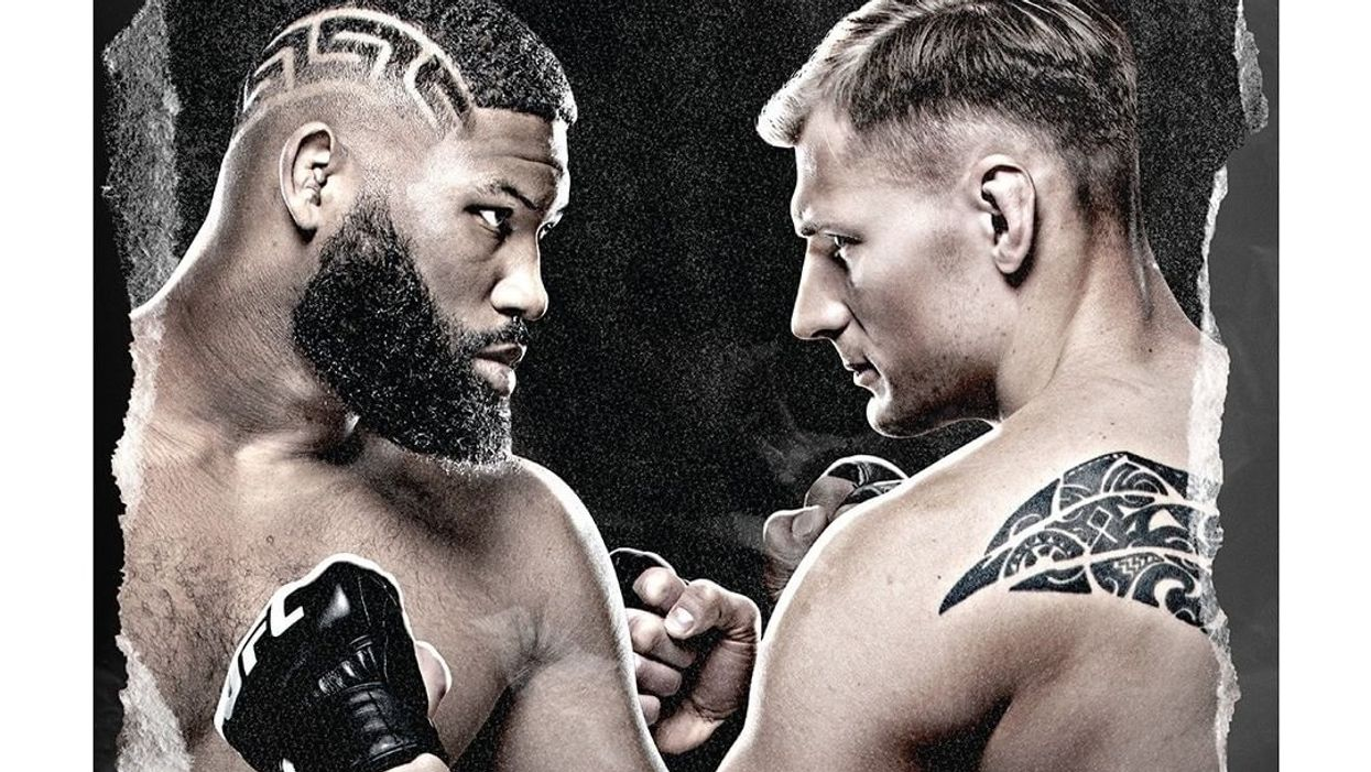 UFC Fight Night Curtis Blaydes vs Alexander Volkov