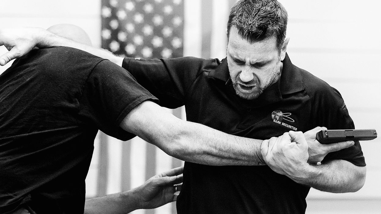 Krav Maga Gun Disarm Techniques and Tactics