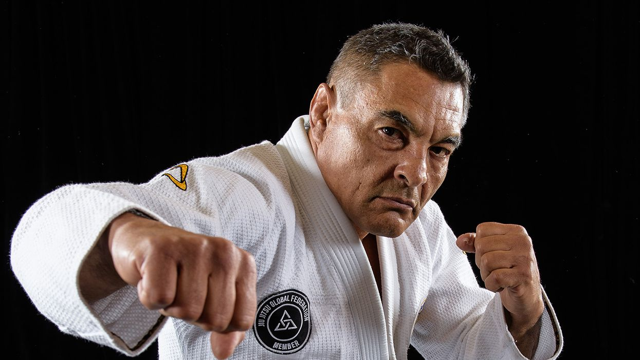 Rickson Gracie from Jiu Jitsu Global Federation