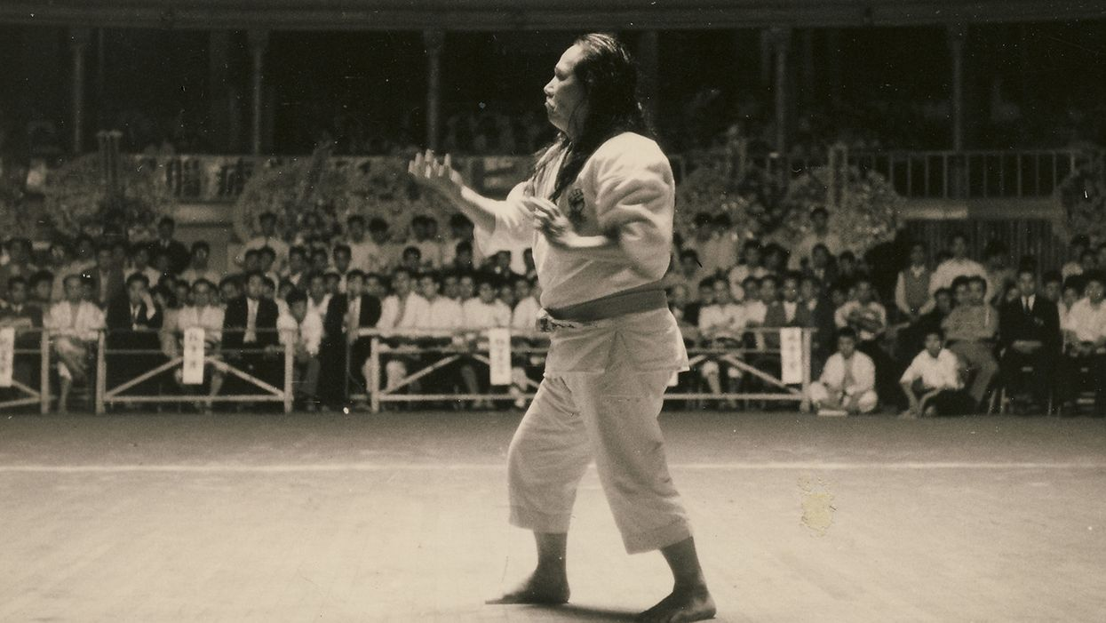 "Black Belt Flashback! Gogen ""The Cat"" Yamaguchi, Head of Goju Karate"