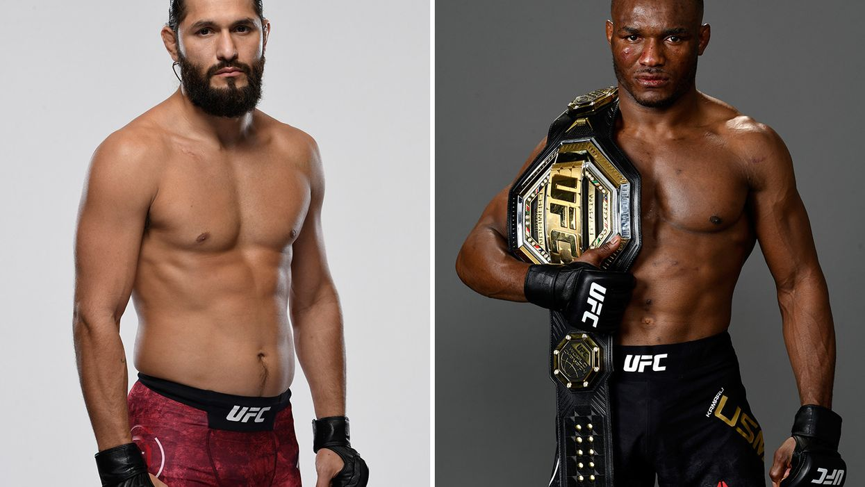 Jorge Masvidal vs kamaru usman announced for UFC 251