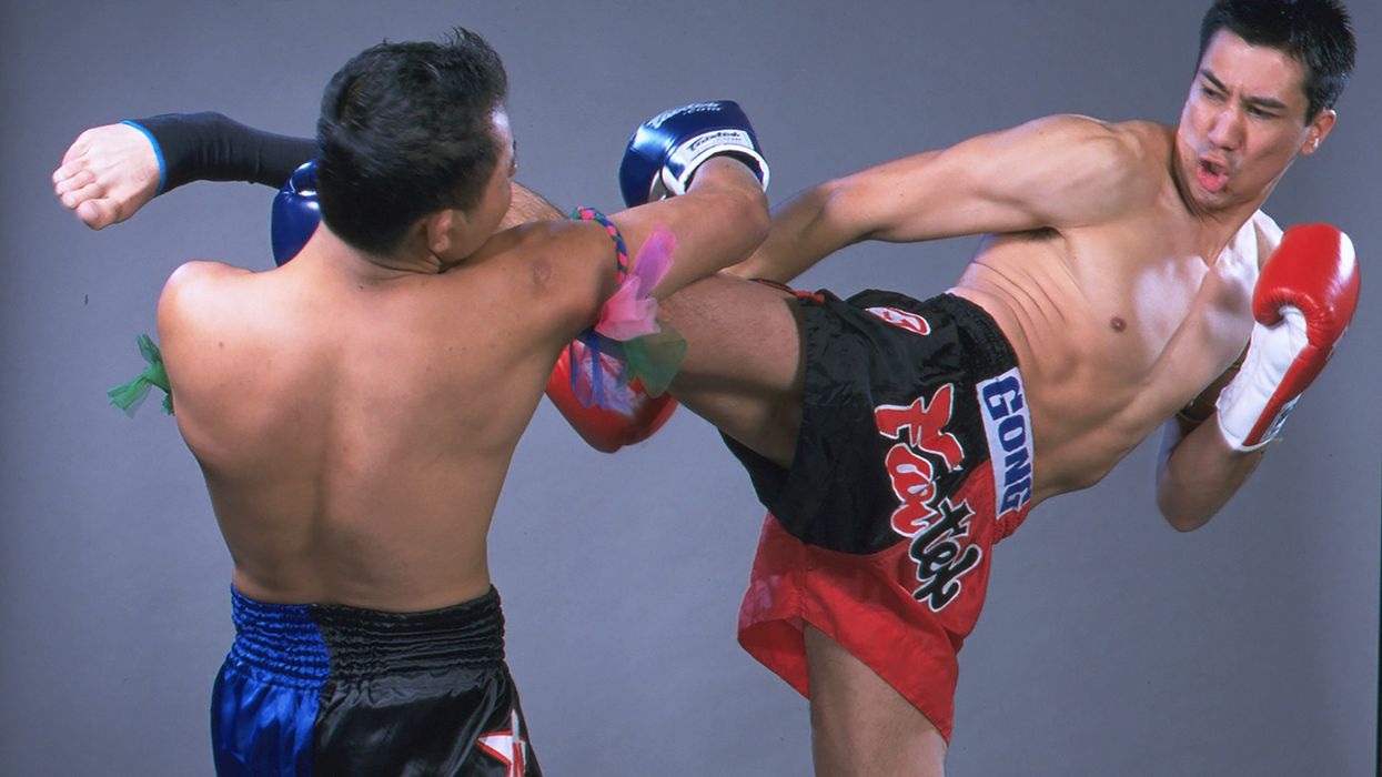 How to Get Good at Muay Thai: Roundhouse Kick and Knee Thrust