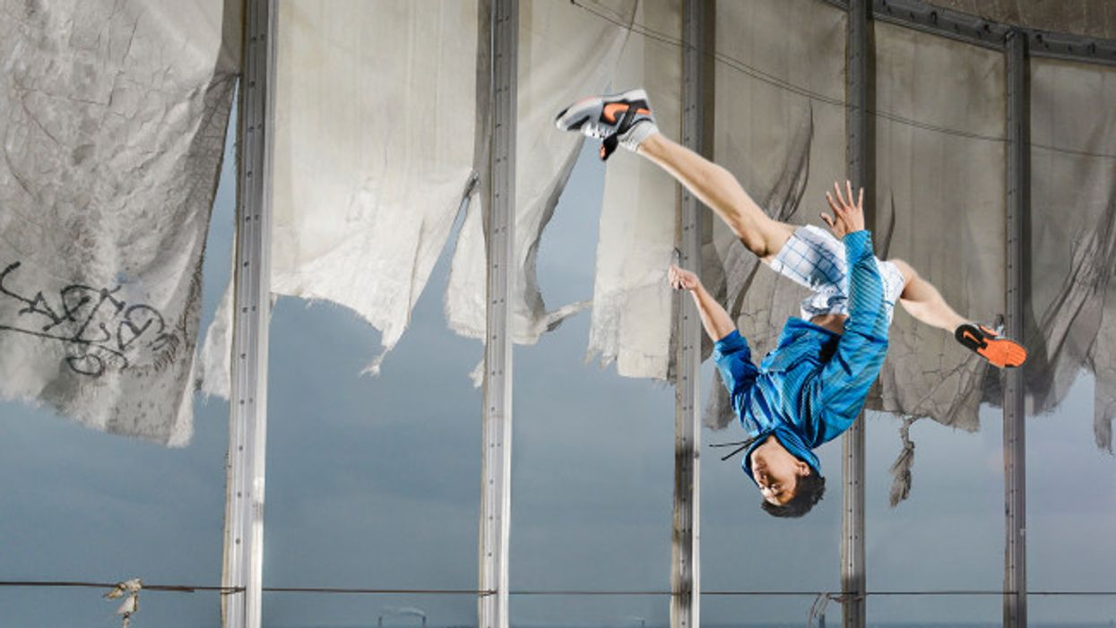 Tricking Gainer Flash Kick