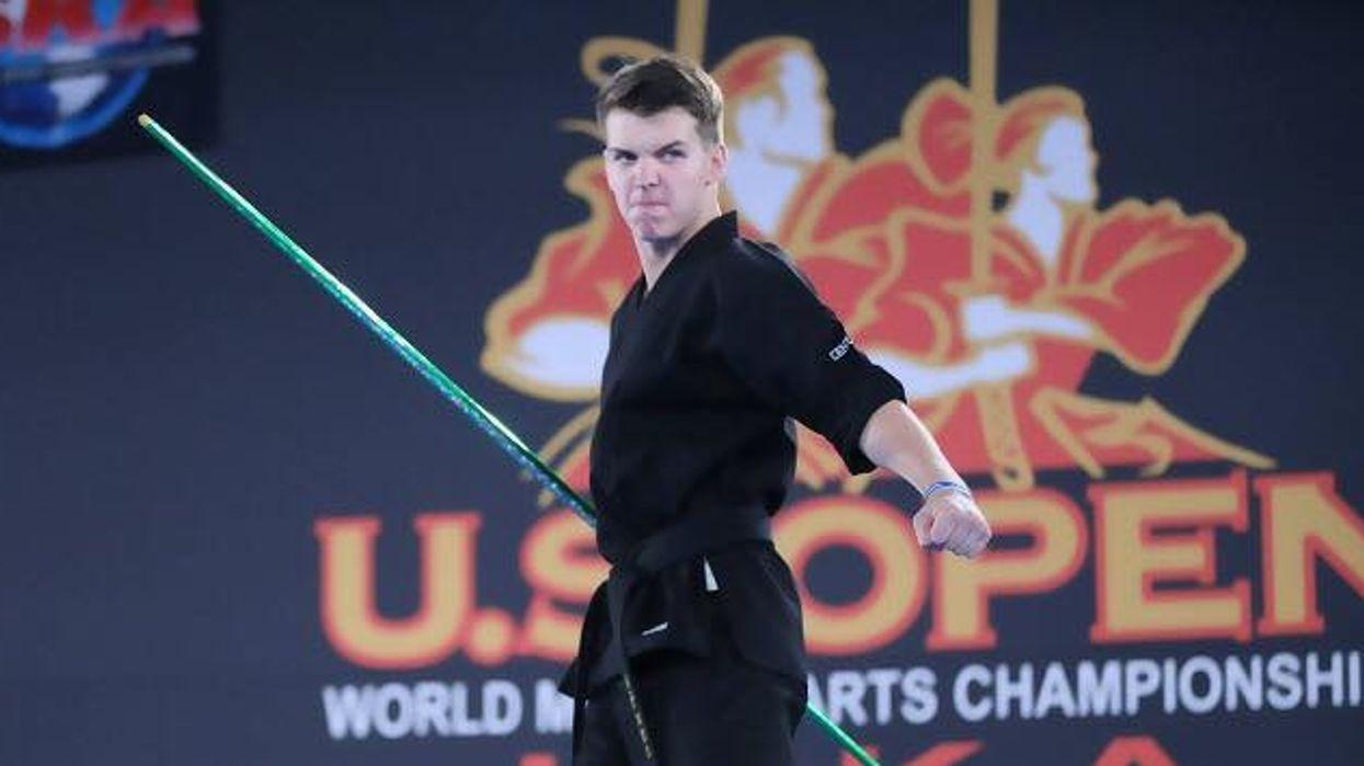 Jackson Rudolph at the ISKA US Open