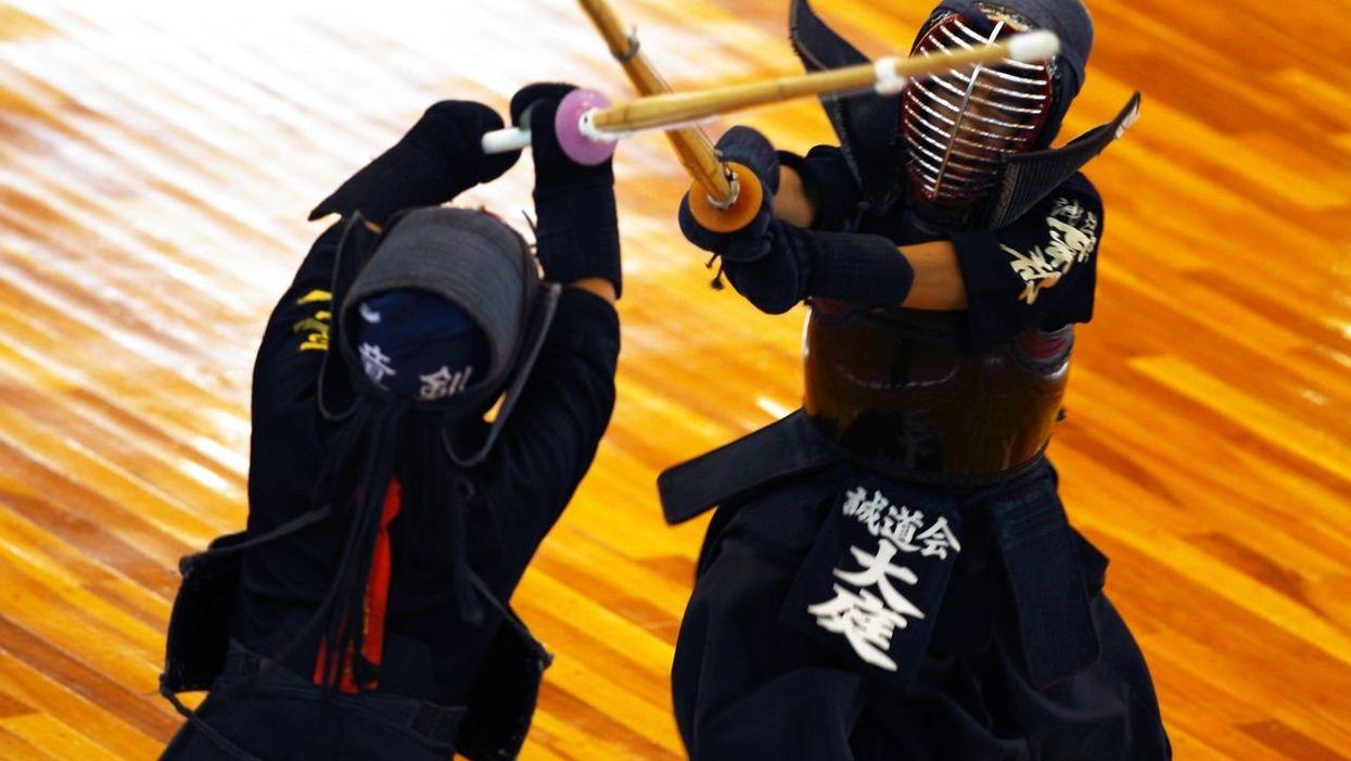 Kendo Training Still Draws Martial Artists Interested in Samurai Swords
