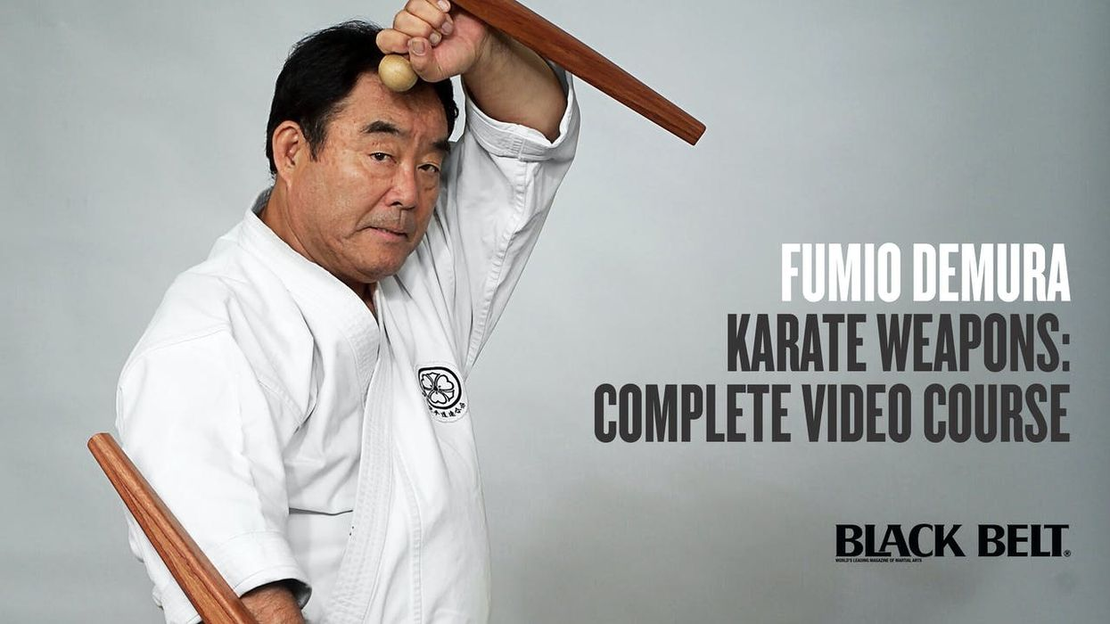 Fumio Demura: Black Belt Hall of Fame Member