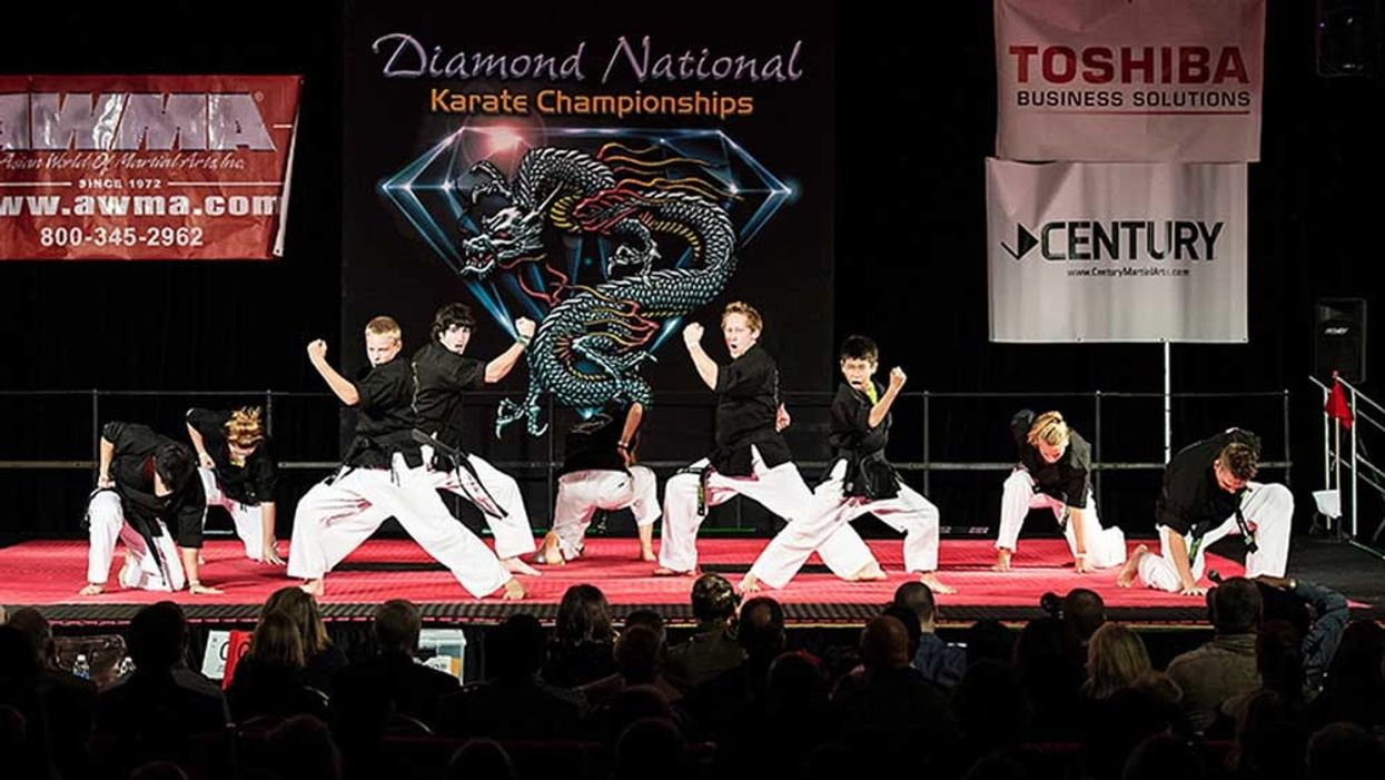 Team Infinity at the Diamond Nationals