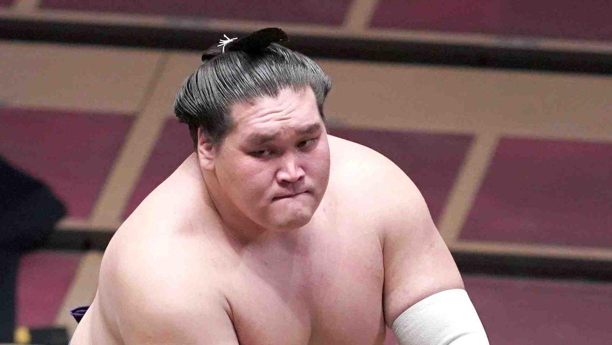 Terunofuji Wins Grand Sumo Tournament