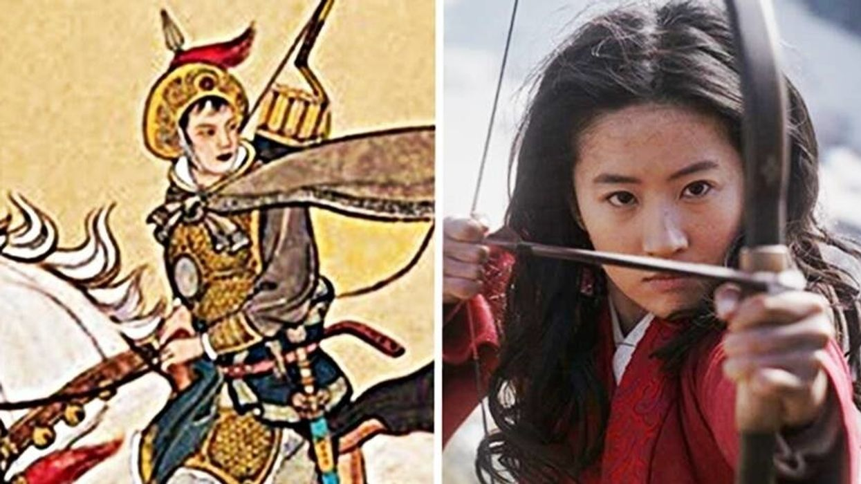 Mulan: The Real Lady General, the Live-Action Film Character and the Disney Cartoon Hero