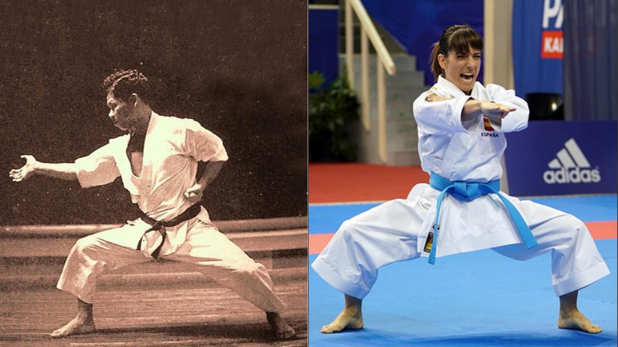 Funakoshi Sandra Sanchez Karate