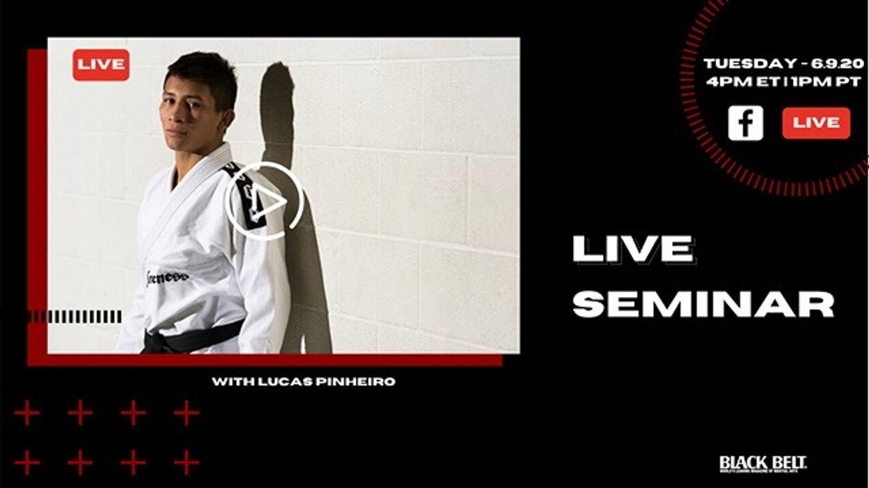 Live BJJ Seminar with Lucas Pinheiro