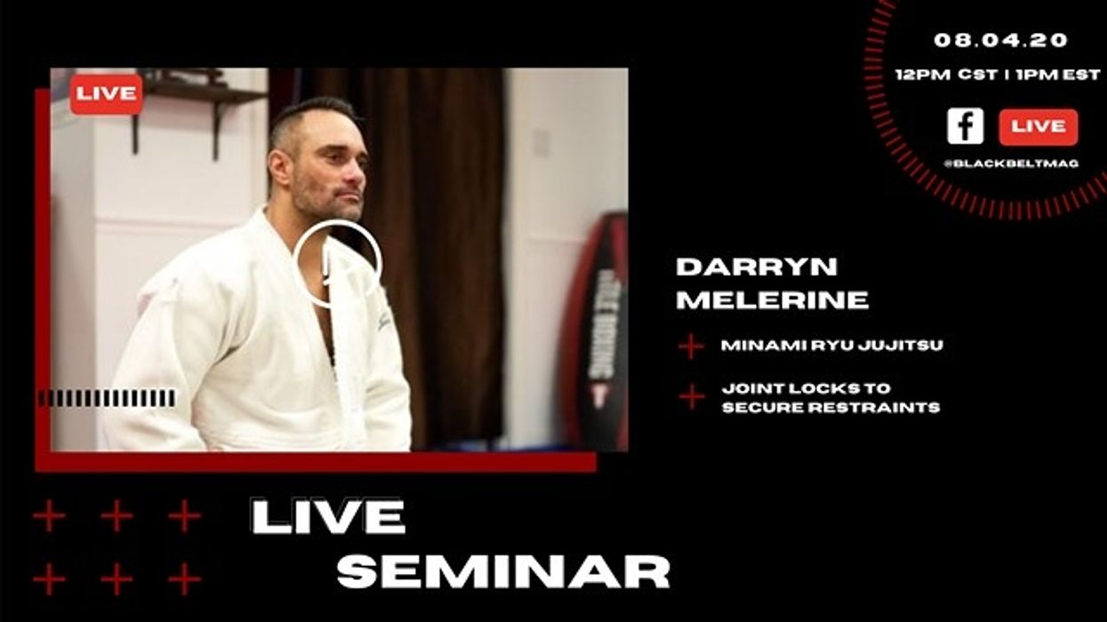 Live Minami Ryu Jujitsu Seminar with Darryn Melerine