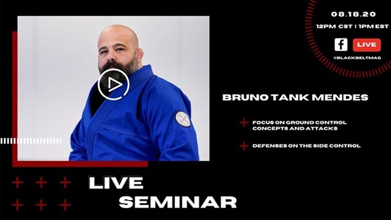 Live BJJ Seminar with Bruno Mendes