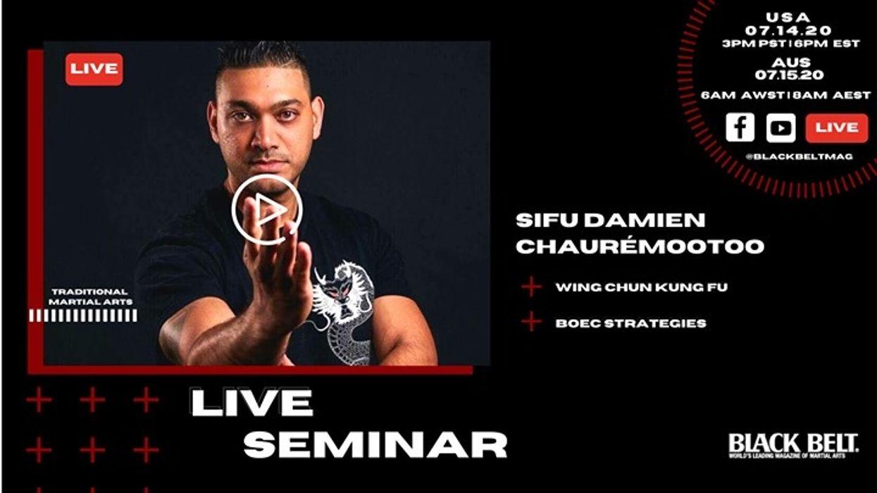Live Wing Chun Seminar with Damien Chauremootoo