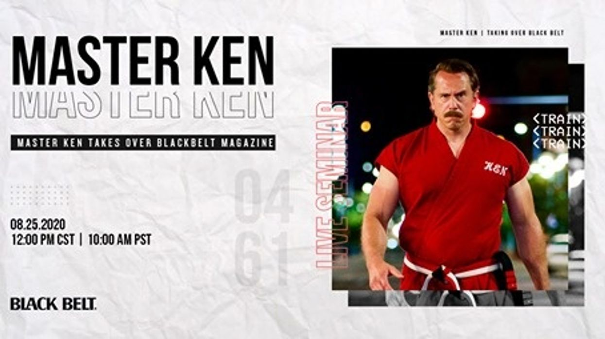 Live Facebook Takeover with Master Ken