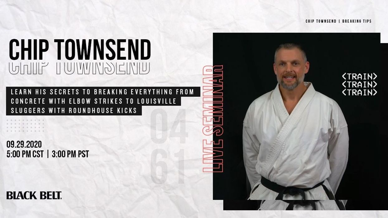 Live Breaking Seminar with Chip Townsend