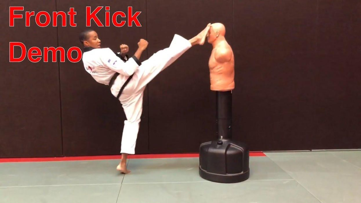 The Front Kick: How to Do It, When to Use It