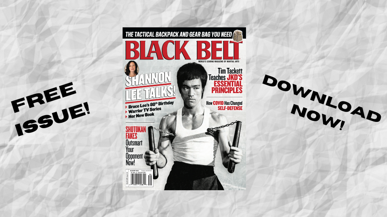 Bruce Lee Black Belt Magazine