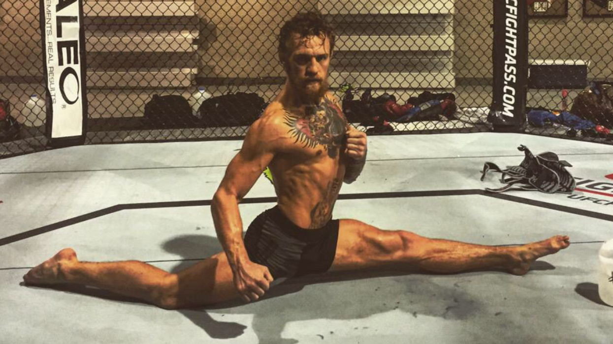 Conor McGregor Flexibility