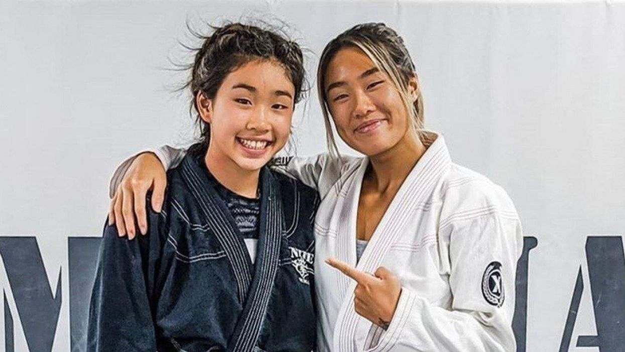 Victoria and Angela Lee