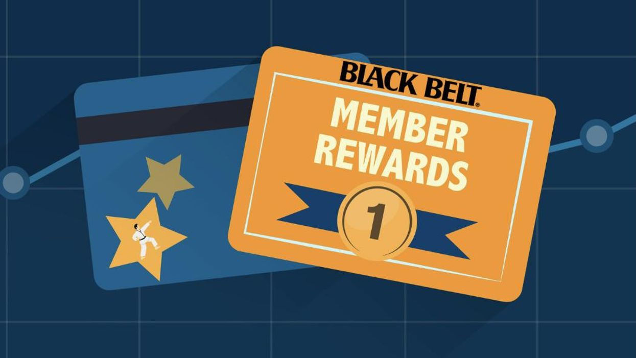 Black Belt Magazine Rewards