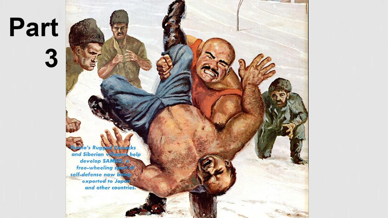 Classic Black Belt Article From 1967: Russia Prepares to Export Sambo (Part 3)