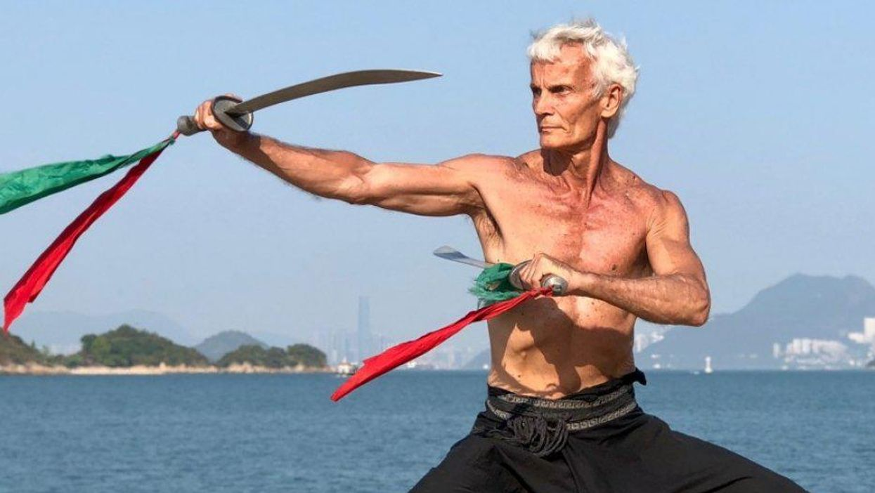 Old Martial Artist