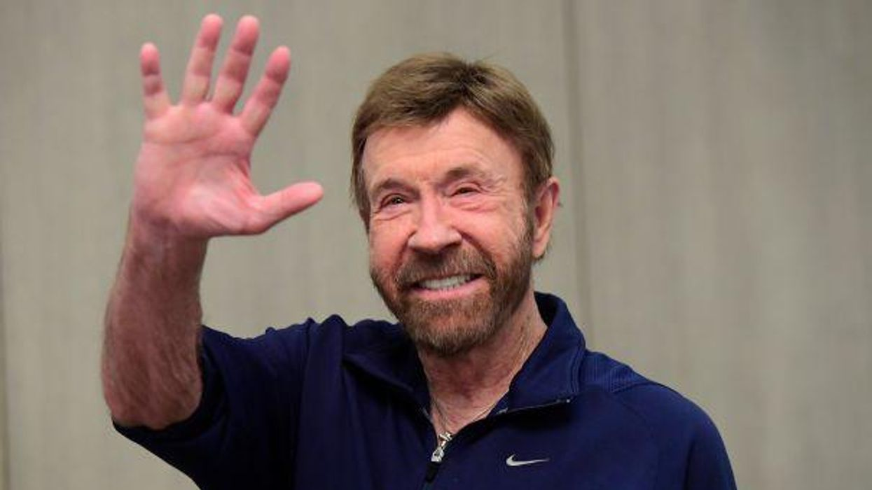 Chuck Norris Old