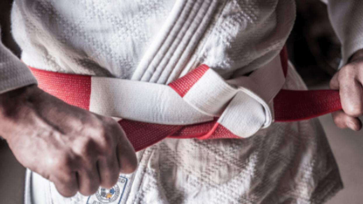 Judo Master Belt