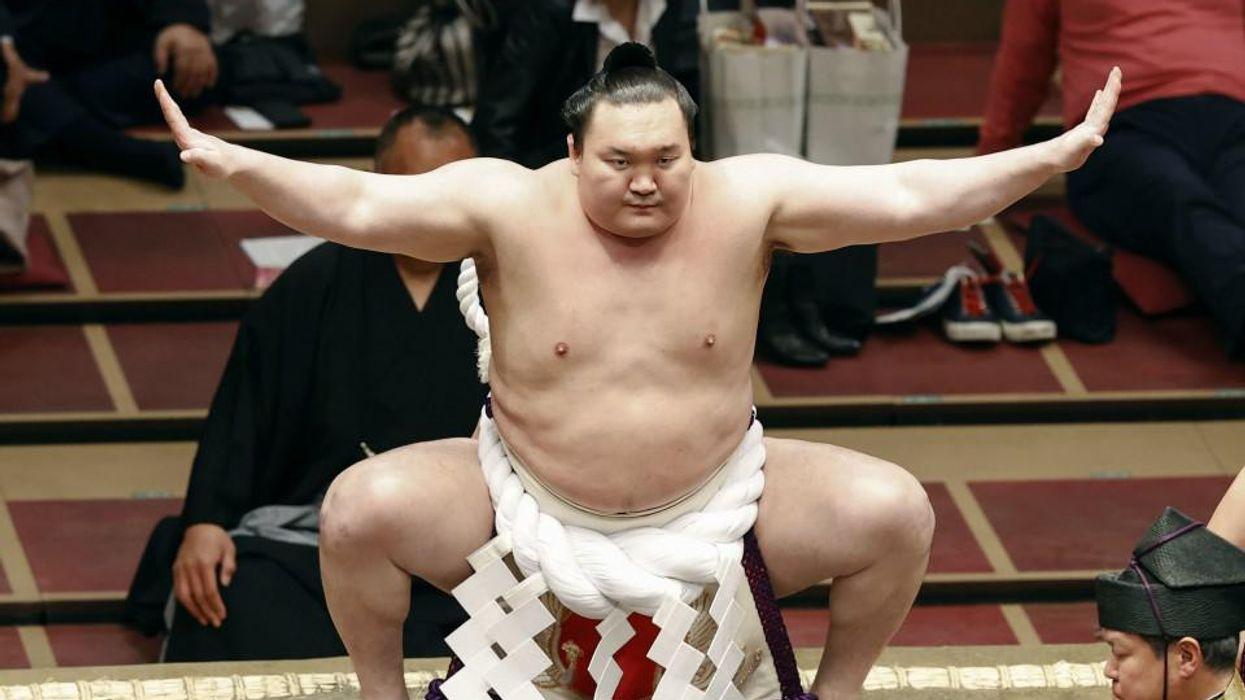 Hakuho Sho Sumo Title