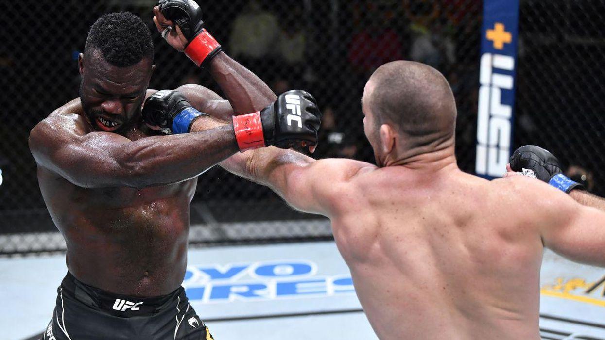 Strickland and Hall UFC