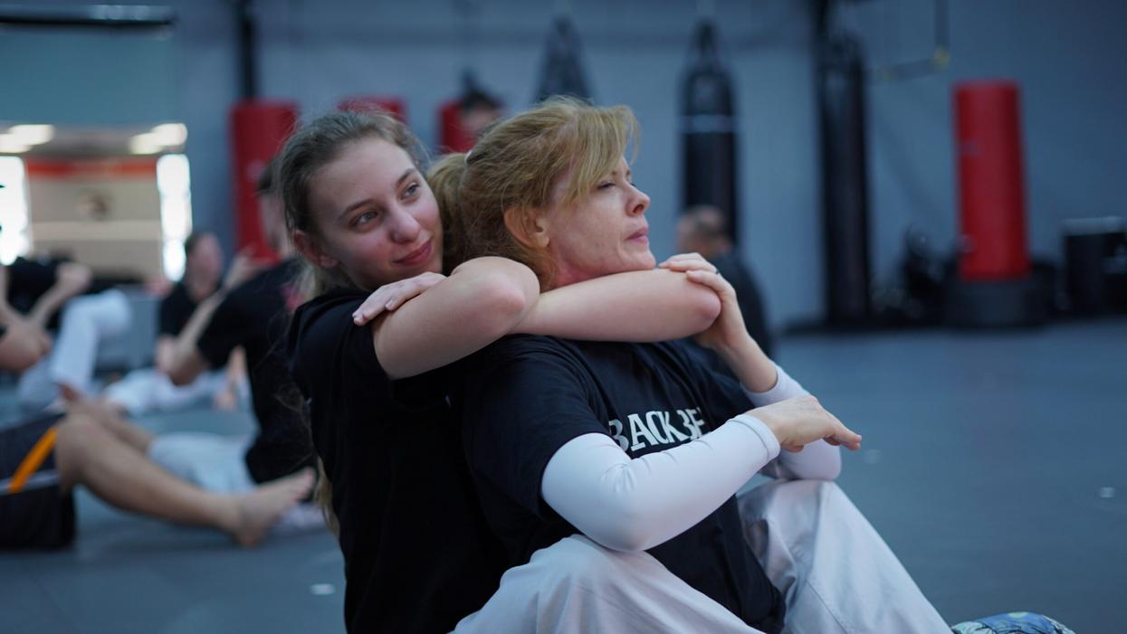 Female Jiu Jitsu Practitioners