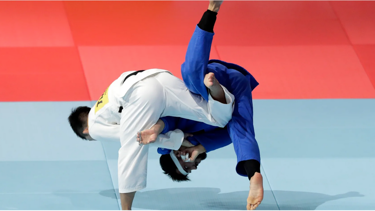 Olympic Judo Throw